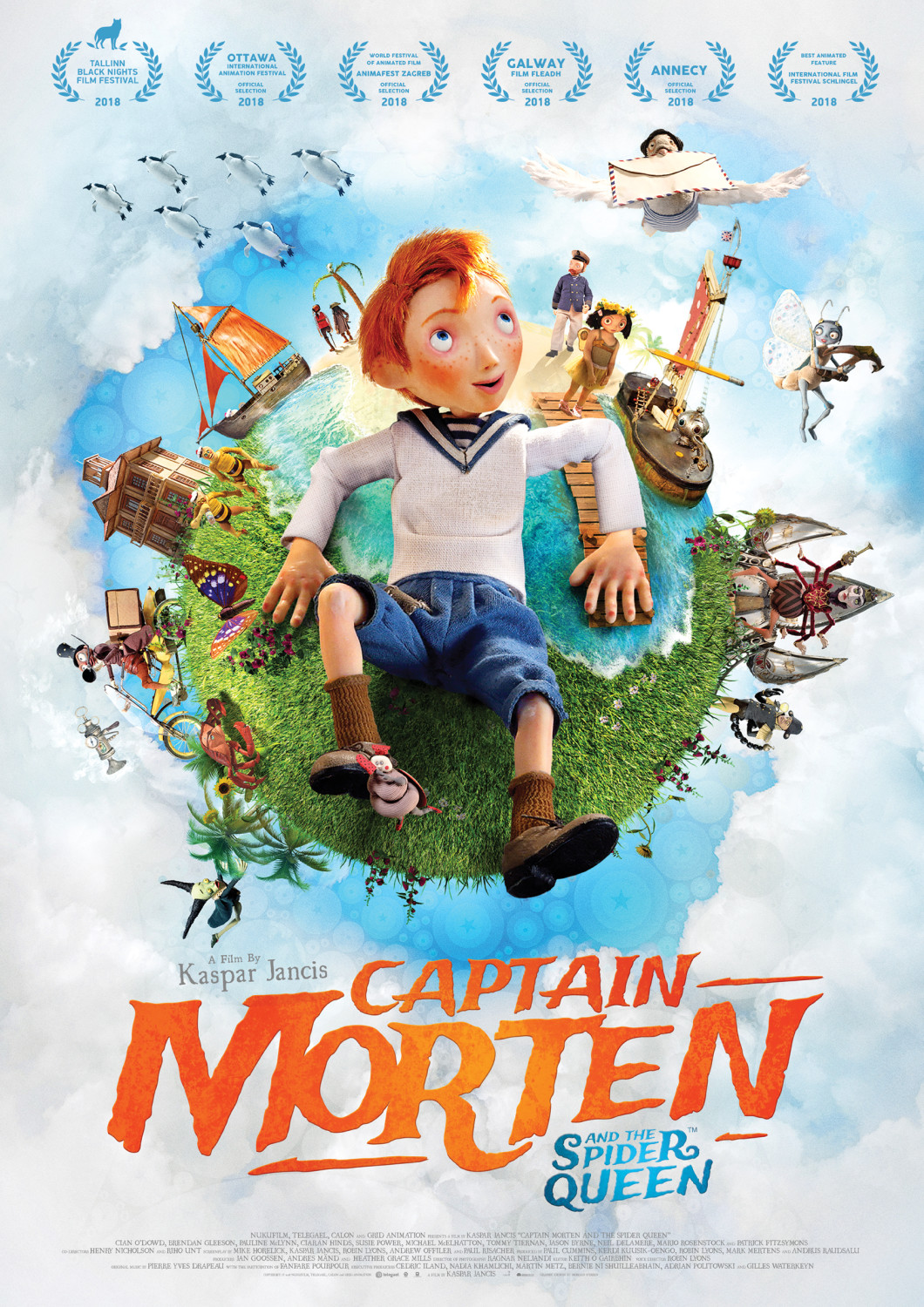 Captain Morten Poster